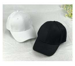 Wholesale Sun Cap Animal - Solid all-match leisure hat adjustable bending and peaked cap rod black ball cap visor couple sun hat