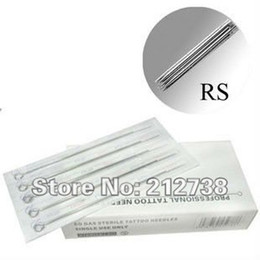 Wholesale Disposable Tattoo Needle Rs - needles tattoo 25 PCS Lot 9 RS Sterile Disposable Tattoo Needles 9 Round Shader 9RS Size