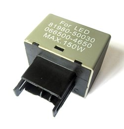 Wholesale Electronic Led Flasher Relay - This auction features for a piece of Electronic 12V 150W LED Flasher Relay Fix for most newly Lexus or Toyota standard thermal flasher for T