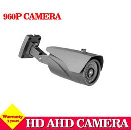 Wholesale ccd bullet cameras - 960P AHD Camera 1.3MP CCD High Definition Surveillance Camera 1.3MP Lens with IR CUT waterproof ir bullet camera Digital Boy