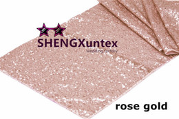 Wholesale Table Runners Sequins - Sequin Fabric Table Runner For Wedding \ Cheap Table Runner