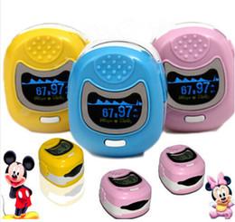 Wholesale Children Finger Pulse Oximeter - Yellow,Pink,Blue color FDA CE CMS50QB Pediatric Children Kids Finger Pulse Oximeter Spo2 PR,OLED,CONTEC CMS50QB