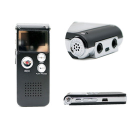 2019 flash player mp3 Atacado-gravador de voz 8 GB marca Mini USB Flash Digital gravador de voz de áudio 650Hr ditafone MP3 Player desconto flash player mp3