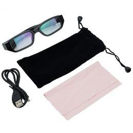 Wholesale Glasses Spy Camcorder Hd - Mini HD 720P Spy Camera Glasses Hidden Eyewear DVR Video Recorder Cam Camcorder Free Shipping
