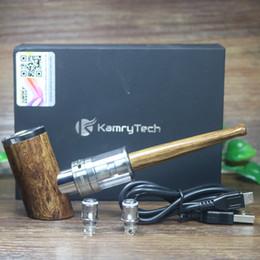 Canada Vente en gros- 100% authentique Kamry K1000 plus e-pipe 1100mah mod 30W Avec 4ml sous réservoir réservoir kit de démarrage vaporisateur cigarette électronique narguilé supplier e pipe kamry Offre