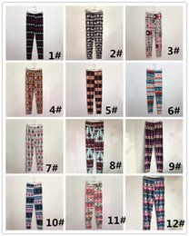 Wholesale Womens Winter Leggings Wholesale - 2017 Hot Womens Autumn Winter Warm Leggings Fashion Christmas Printed High Elastic Skinny Leggings Slim Pencil Pants Plus Size DHL 170923