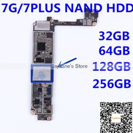Wholesale Flash Memory 256gb - For iPhone 7 7plus NAND flash memory IC Hardisk 32GB 64GB 128GB 256GB HDD chip iCloud unlock programmed with serial Number with balls