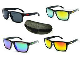 2019 caja de bicicletas (CON LA CAJA) 11 colores entrega rápida Estilo de moda para mujeres de los hombres Gafas de sol Bicicletas Gafas de sol Gafas de sol Gafas de sol A +++ caja de bicicletas baratos