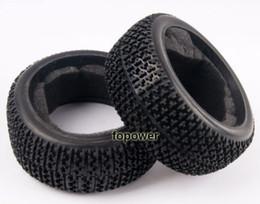 Wholesale Rc Buggy Wheels - RC 4pcs Rubber Sponge Liner Grip Tyre Tires Fit HSP 1:8 Off-Road Buggy Wheel 804