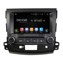 Wholesale Mitsubishi Built Dvd - 8'' Quad Core Android 5.1 Car DVD GPS For Mitsubishi OUTLANDER 2006 2007 2008 2009 2010 2011 2012 With Stereo Radio Map
