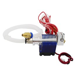 Wholesale 3d Metal Printer - 3D printer accessories For E3D V6 printhead metal head kit with fan feed tube