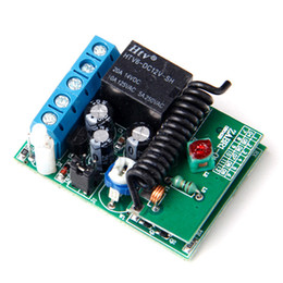 Wholesale Receiver Codes - Wholesale- 1 Button 315MHZ Receiver Controller for Wireless RF Remote Control Fixed Code Jog inter-lock A625