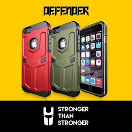 Wholesale Iphone Defender Series - For Apple iPhone 6 6S Phone Cases Original Nillkin Defender Series Case Cover With Retail Box