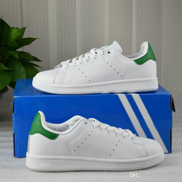 Wholesale Slip Basketball Shoes - 2017 Wholesale Stan Smith Skate Sneakers Casual Leather For Men Women Fashion Non-Slip Sport Shoes Running Shoes 36-44
