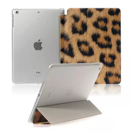 Wholesale Purple Tablet Bag - Tablet Case For iPad 5 air 1 mini 1 2 3 PU Colored drawing Siamese Stand Flip Case OPP BAG