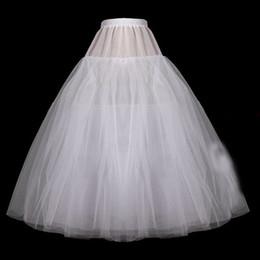 Canada Robe de bal blanche robe de mariée courte jupons organza jupon pour robe de mariée, plus la taille Crinoline 2019 P03 Offre