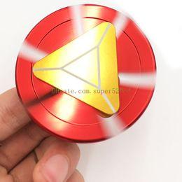 Hand spinner gyro Iron Man Fidget Spinner Metel Aluminium Main Spinner Focus Jouet EDC Pocket Soulager Stress Anxiété Boredom Desktoy jouets ? partir de fabricateur