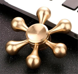 Wholesale Top Toys For Women - TOP newest White Bone Demon fidget Spinner Fingertip vision spinner Gyro hand Spinner Decompression Anxiety Toys for men and women EDC toys