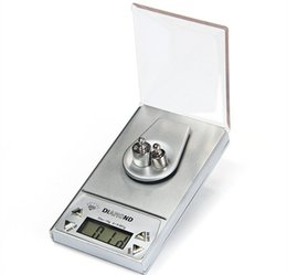 Wholesale Precision Digital Weight Scale Grams - High Precision 50G 0.001g LCD Digital Jewelry Scale Lab Gold Herb Balance Blue Backlight Weight Gram