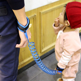 Wholesale Adjustable Wrist Bands - Child Anti Lost strap Kids Safety Wristband Safety leashes Anti-lost Wrist Link Band Baby Toddler Harness Leash Strap Adjustable Braclet