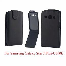 Téléphone Sacs Couverture Pour Samsung Galaxy Core Plus G350 cas de téléphone Retour coque PU en cuir Flip Vertical Up-Down Peau ouverte peau ? partir de fabricateur