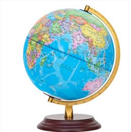 Wholesale Office Desk Styles - Tianyu globe student with 25cm HD 2016 teaching Decoration without desk lamp office gift high 32cm