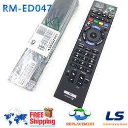 Wholesale Fit Tv Lcd - Wholesale- RM-ED047 Bravia TV REMOTE CONTROL FIT FOR SONY LCD TV KDL-40HX750 KDL-46HX850 KDL-40HX758 KDL-40HX757 KDL-55HX753 KDL-46HX759