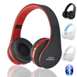 Wholesale Earphones Mic For Computer - Blutooth Big Casque Audio Cordless Wireless Headphone Headset Auriculares Bluetooth Earphone For Computer Head Phone PC With Mic