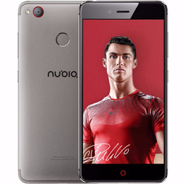 Wholesale Mini Cell Phone Wifi Tv - Original ZTE Nubia Z11 Mini S Cell Phone MSM8953 Octa Core 4GB RAM 64GB ROM 5.2 inch Dual SIM 23.0 MP Fingerprint ID NFC 4G LTE Mobile Phone