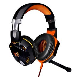 Auricolare ogni online-Originale EACH Gaming Headset Cuffie per computer Deep Bass con microfono LED Light per computer PC Gamer HOT + B