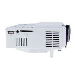 Wholesale video game speakers - Wholesale- HUSOAR Mini Digital Video Game Projectors Inputs AV VGA USB SD HDMI proyector Built-in Speaker data show Hot