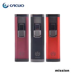 Wholesale E Cig Leak - Authentic FP Mission Starter Kits e cigarette Integrated Closed Tank Barely Leaking Kit 100% e cig vape pen