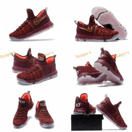 Wholesale Kd Boots - 2017 Air Zoom KD 9 Xmas EP Basketball Shoes 35 Kevin Durant 9s Christmas Mens Trainers Sports Sneakers Size Eur 40--46