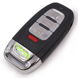 Wholesale Audi A4 Button Key - Replace Smart Remote Key Shell Case Fob 3+1 Button for Audi A3 A4 A5 A6 Q5 Q8 S4
