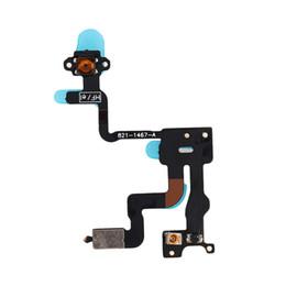 Fita iphone 4s on-line-Alta Qualidade Proximidade Sensor de Luz Botão de Alimentação Cabo Flex Ribbon para iPhone 4 4G 4S 4GS
