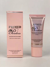 Wholesale Foundation Primer NEW Makeup Face Cosmetics Primed and Poreless g Ounce DHL FREE GIFT