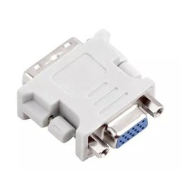 Wholesale Dvi Vga Adapter Wholesale - DVI DVI-I Male 24+5 24+1 Pin to VGA Female Video Converter Adapter Plug for DVD HDTV TV D