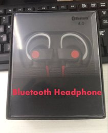 Wholesale Oem Earphone - New Good Sports Wireless Bluetooth Headphone Bass Stereo Ear Hook with mic AAA Earphones Headset for phone OEM Headphones with retail box