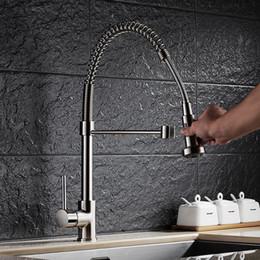 Promoção de torneiras de cozinha on-line-Promoção latão maciço torneira da pia da cozinha com único furo único torneira da cozinha por alta qualidade torneira da pia da cozinha