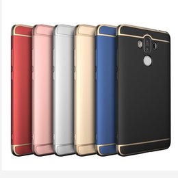 Wholesale Huawei Honor Casing - Case for Xiaomi Redmi Note 4 3 Huawei P9 Honor 8 Mate 9 Magic Hard Back Hybrid Armor PC Cover Electroplating