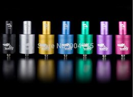 Wholesale Drip Free E Cig - Colorful Tugboat RDA with drip tip E Cig Rebuildable Dripping Atomizer Electronic Cigarette Vaporizer multi Color Free Shipping