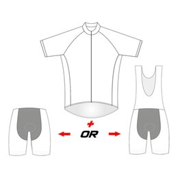 Wholesale cycle clothing wholesale - Personalized DIY Custom Cycling Jerseys Own Design Quick Dry Cycling Clothing Short Sleeves MTB Ropa Ciclismo Bike Wear Size XS-4XL