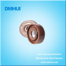 Wholesale Oil Seal Hydraulic - DMHUI seal factory High pressure oil seal 10*27*8.5 10x27x8.5 VITON+PTFE rubber HLPS type used for hydraulic motor