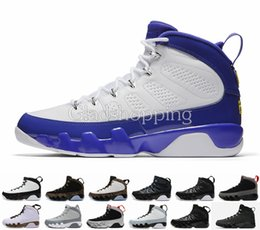 Wholesale Men Statue - Retro 9 Lakers Tour Yellow Kobe Space Jam Anthracite Copper Statue Barons Mens Basketball Shoes Sneakers Cheap New Retro IX 9s Sports Shoes