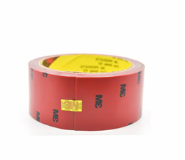 Wholesale Foam Tapes - 1 Roll 3M VHB Double Sided Acrylic Adhesive Tape 2.5M*40MM Mounting Tap  car styling auto moto Choose Wide Free Shipping foam
