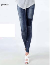Wholesale Cheap Skinny Legs Jeans - Dirt Cheap Women's Jeggings Stretch Skinny Leggings Leg Wear Pencil Pants Casual Jeans 30