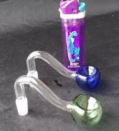 2019 grossisti del tubo di tabacco Grossisti liberi di trasporto ----- nuovo vetro colorato S Au Tau pentola, vetro Pipa tabacco da fumo narghilè / accessori di vetro di bong grossisti del tubo di tabacco economici