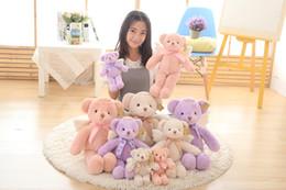 Wholesale Christmas Stuffed Panda Bear - Angel teddy bear doll baby toys angel bear kawaii plush toy bear soft toys ty dolls birthday christmas girl gift stuffed toys