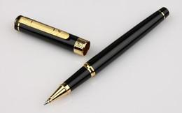 Wholesale Metal Orbs - PS - 902 gentleman agate red golden orb pen pen