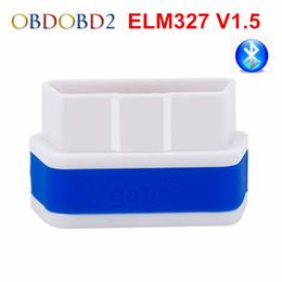 Wholesale Pc Elm327 Obd2 - Wholesale- Original iCar2 icar 2 Bluetooth ELM327 V1.5 OBD2 Scanner For Android PC OBD2 Code Reader Diagnostic Tool